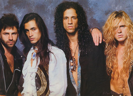 Extreme band old school pic