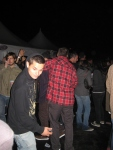 Red flannels were all the craze at the party. I think I counted 7, with 5 being Emerica. Word.