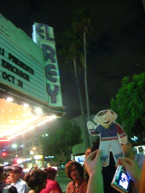 Stan came to the El Rey too.