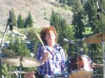 I loved her drummer! She rips with that wo-fro of hers!